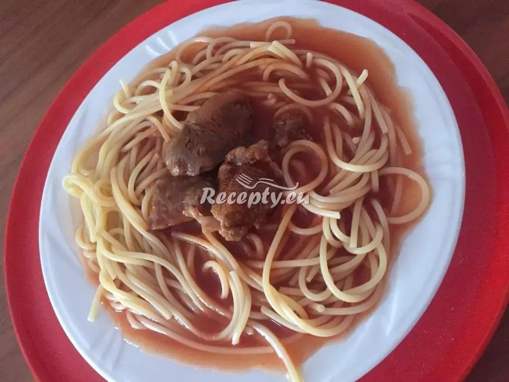 Rýžové špagety s italskou omáčkou recept  bezlepková dieta ...