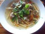 Ušákova polévka s knedlíčky a nudlemi recept