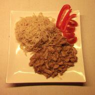 Vepřové maso na pivu a česneku recept