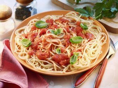 Italské rajčatové špagety