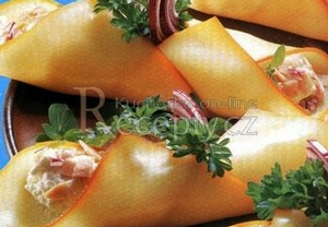 Sýrové kornoutky