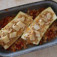 Cuketa plněná sojovým masem recept