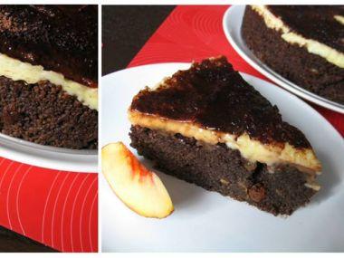 Kuskusový dort s banány