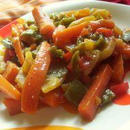 Vegetariánský mix recept