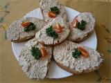 Pikantní baltik pomazánka s čili Cottage recept