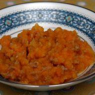 Příkrm králík s pórkem, kedlubnou a mrkví recept