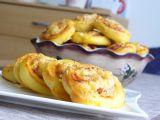 Šneci z kynutého bramborového těsta recept