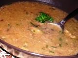 Česnekovo-houbová polévka s kroupami recept