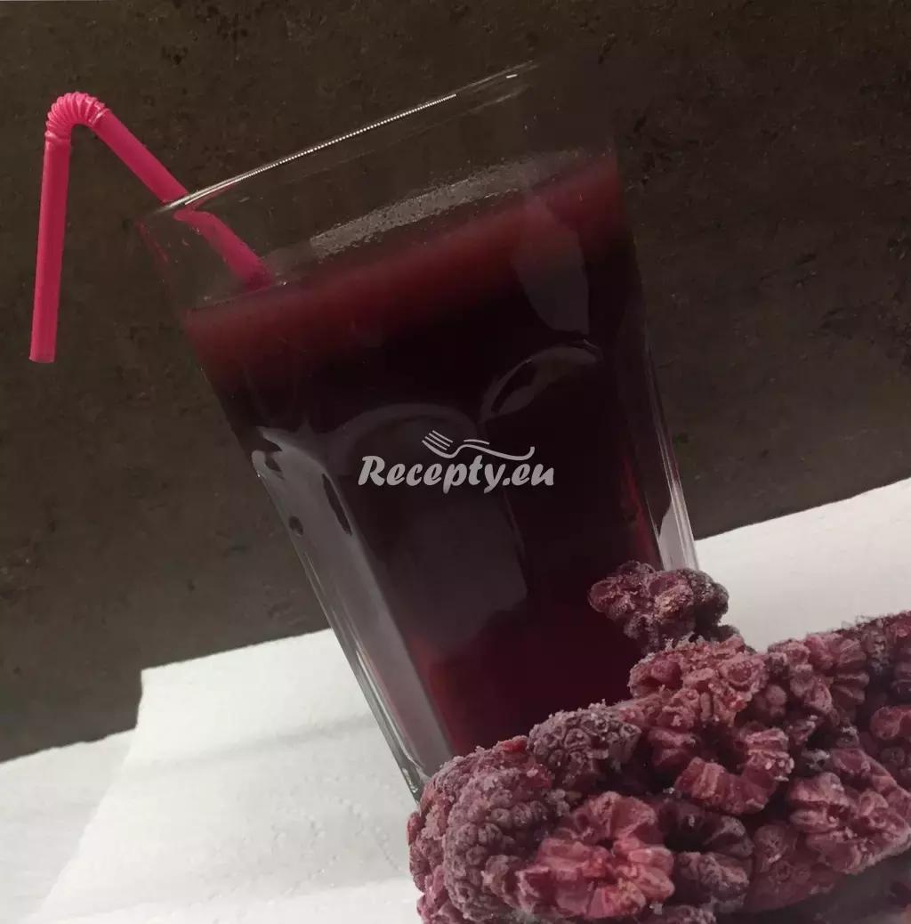 Ovocný malinový sirup recept  míchané nápoje