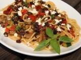 Špagety s olivovou tapenadou recept