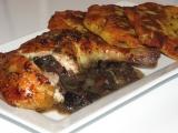 Houbová kuřecí stehna recept