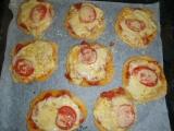 Pizza k nakousnutí recept