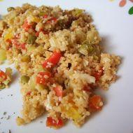 Zeleninový kuskus s parmazánem recept