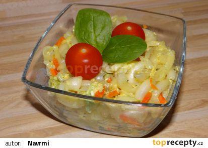 Rychlé těstoviny se sezamovými semínky recept
