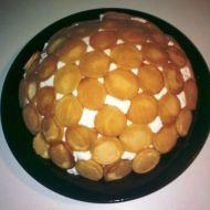 Nepečený šlehačkový dort recept