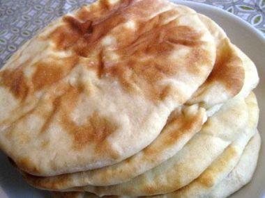 Arabský pita chléb