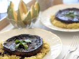 Marinované portobello s polentovou kaší recept