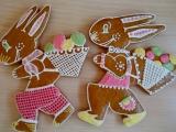 Velikonoční medovníčky recept