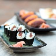 Japonské sushi recept