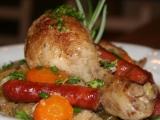 Francouzské kuřátko v kapustě recept