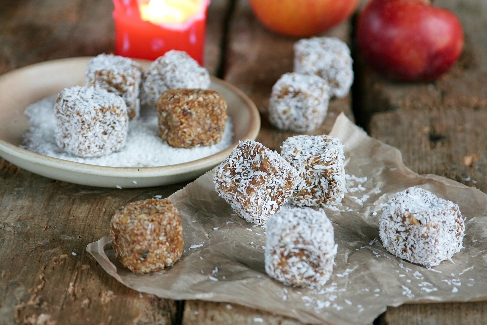 Fíkové kostičky s kokosem (last minute cukroví) recept