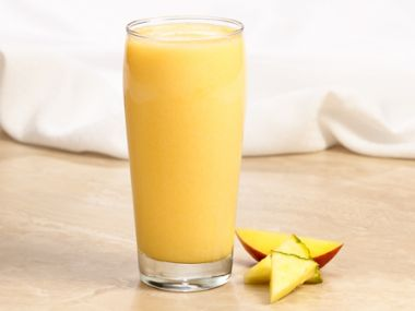 Ananasovo-mangové smoothie