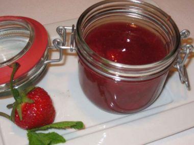 Jahodová marmeláda s limetkou