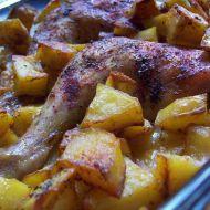 Pečená kuřecí stehna s citronem recept