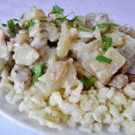 Domácí tarhoňa s masem a kedlubnou recept
