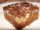 Jablečná buchta s čokoládovou polevou recept