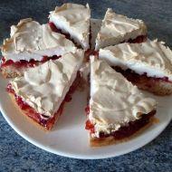 Rybízový koláč s čepičkou recept