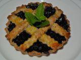 Borůvkové koláčky z mandlového těsta recept