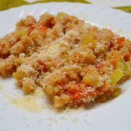 Bulgur se zeleninou a parmazánem recept