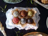 Raw čokoládové brownies s mandlemi recept
