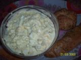 Rychlý vajíčkový salát recept