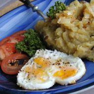 Bramborová kaše s houbami recept