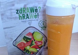 Smoothie z jablka a mrkve recept