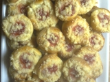 Hanácké koláčky s tvarohem a marmeládou recept