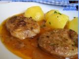 Panenkové medailonky dušené na špeku a cibuli recept ...