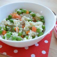 Jemné zeleninové risotto recept