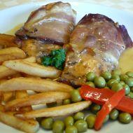 Kuřecí prsa v parmské šunce recept