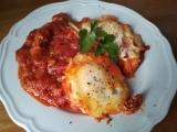 Sázené vejce po italsku recept