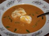 Postní vaječná polévka recept