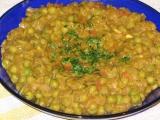 Hráškový salát recept