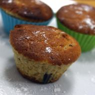 Muffiny se švestkami a čokoládou recept