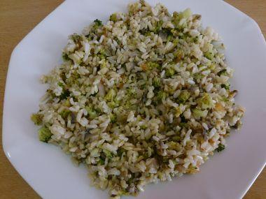 Brokolicové rizoto s pórkem