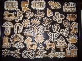 Perníčky zdobené čokoládou recept