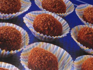 Italské čokoládové lanýže