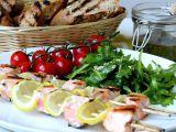 Grilované špízy z norského lososa recept