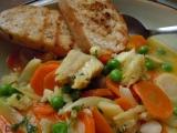 Pochoutka z rybího file a zeleniny recept